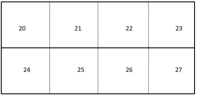 Worksheet on Numbers 1 to 100 7