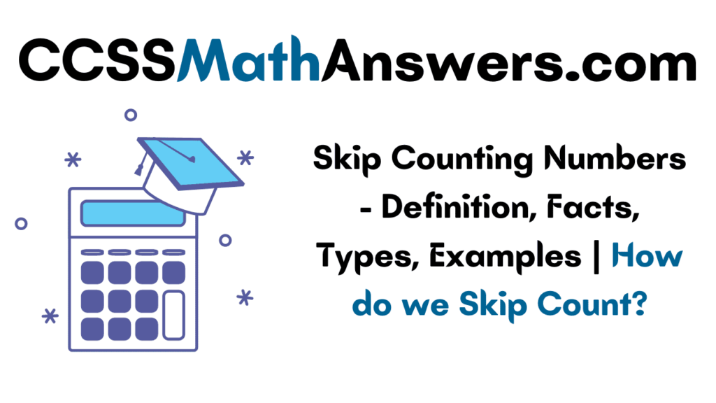 Skip Counting Numbers