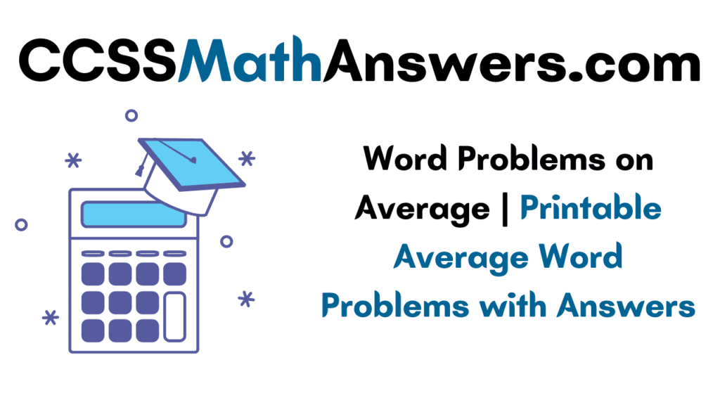 Word Problems on Average