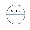 area of circle example 2