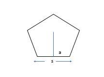 area of pentagon example