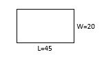 area of rectangle example 1