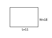 area of rectangle example 2