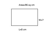 area of rectangle example 4