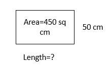 practice test on area example 7