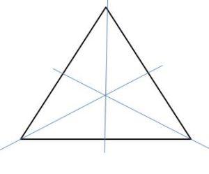 3 lines symmetry