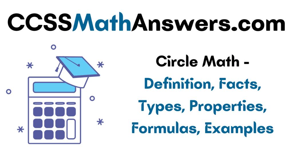 Circle Math