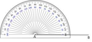 Draw an angle-Step2