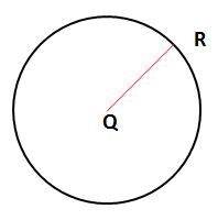 Worksheet on Circle Example Problems
