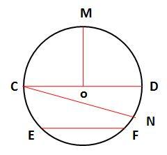 Worksheet on Circle Examples